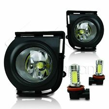 2008-2010 Scion XB Fog Lights w/Wiring Kit & COB LED Bulbs - Clear