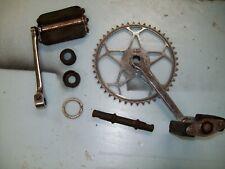 English 'Rocket' bicycle crank & pedals