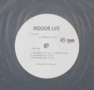 """INDOOR LIFE s/t 12"""" EP 4 Songs – 1980s Leftfield/Synth Rock w/ Patrick Cowley"""