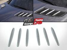 Chrome Hood Molding Grill Grille Vent Cover For 12-16 Mercedes Benz R172 SLK