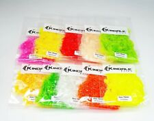 Goo 15mm Translucent Fritz - Choice of Colour - Fly Tying Materials - Blobs