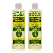 Clubman Pinaud Country Club Shampoo Enriched in Panthenol 16oz Set Of 2pcs!