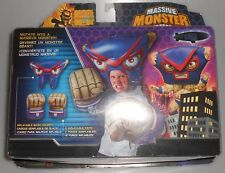 Massive Monster Mayhem Inflatable Bash Helmet and Gloves NEW SEALED NickToons