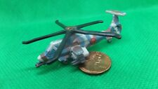 MILITARY MICRO MACHINES RAH-64 RAH64 COMANCHE ATTACK HELICOPTER BLUE BROWN