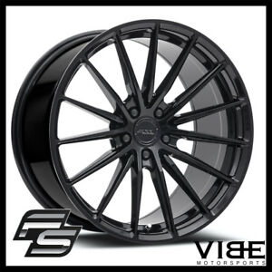 "19"" MRR FS02 BLACK CONCAVE FORGED WHEELS RIMS FITS BMW E39 525i 528i 530 540"