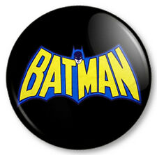 "Batman Retro (3) 25mm 1"" Pin Button Badge Superhero DC Comics Bruce Wayne Gotham"