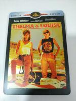 THELMA & LOUISE - SUSAN SARANDON GEENA DAVIS DVD SPANISH EDITION STEELBOOK - AM