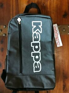 'NEW' Official KAPPA Basic Backpack in Gray (Unisex)