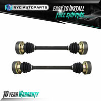 Pair Rear CV Axle Shaft for 1983-1989 1990 1991 VW Vanagon w/ Automatic Trans.
