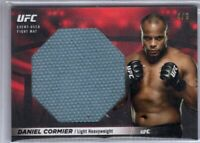 2018 Topps UFC Knockout DANIEL CORMIER Ruby Parallel 4/8 JUMBO FIGHT MAT RELIC