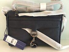 NWT 100% Authentic Rebecca Minkoff Mini MAC Crossbody Bag (Navy)
