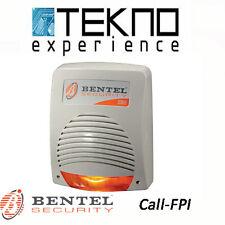 Sirena autoalimentata da esterno con antischiuma Bentel Security CALL-FPI