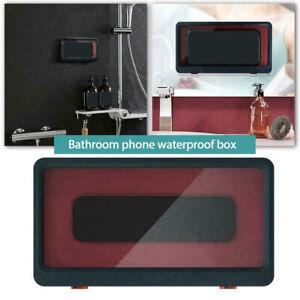Universal Phone Case Waterproof Shower Bathroom case Wall Mounted Cover Bathing