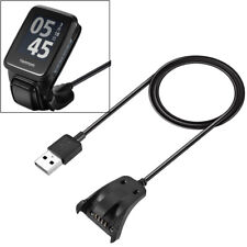 For TomTom 2/3 Runner Golfer 2 GPS Watch Data USB Charger Clip Charging Cable UK