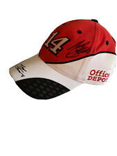 Tony Stewart 14 Office Depot Autographed Signed NASCAR Baseball Cap Hat