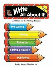 Write All about It, Grades 1-2-3 : Activities for the Writing Process by...