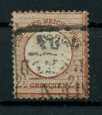 "Dt. Reich: Mi.Nr.21a gestempelt Preußen-Ra3 ""Barmen-Wupperfeld"", gepr. Krug BPP"