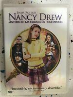 Nancy Drew Mistero IN Le Colline DVD Emma Roberts Spagnolo Inglese Am