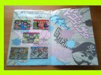 New Premium Carddass all 5 Card Bandai Weekly Jump 50th Anniversary Japan