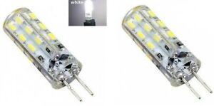 Ampoules LED HP24 feux de jour Blanc diurne 6000K 24 SMD 2pcs