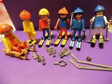 tütSki - Playmobil - alte Sammlung 80er Jahre Wintersport , Klickys