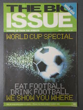 Vintage 1998 BIG ISSUE Magazine, WORLD CUP SPECIAL, No. 286, June 1, Football