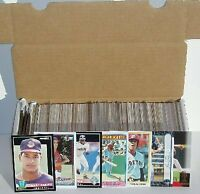 HUGE: MLB Baseball Card Box w/ Over 500 Cards. Players from the Last 25 Years!
