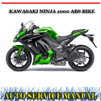 Kawasaki Ninja 1000 Zx10r 2004 2007 Workshop Factory Service Repair Manual Ebay
