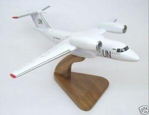 An-74 UN United Nations Antonov Wood Model Plane Small