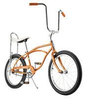 "Coppertone Schwinn Sting Ray New musclw bike 20"" slik banana seat"