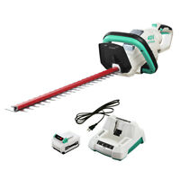 LiTHELi 40V Cordless Hedge Trimmer w/ 2.5AH Battery & Charger Adjustable Handle
