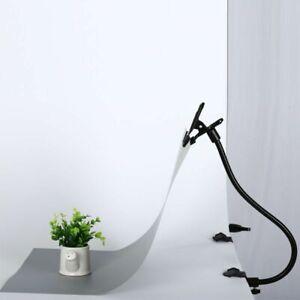 C Clamp Flex Arm Reflector Holder Clips Light Stand Photo Studio Accessories