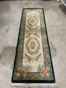 art deco chinese rug runner 2`6x8