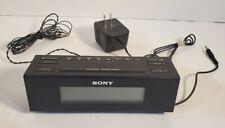 Sony ICF C707 Clock Radio Dream Machine Alarm AUX AM/FM Nature Sounds
