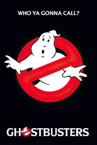 """Ghostbusters - Movie Poster (Logo / Slimer - Who You Gonna Call?) (24"""" X 36"""")"""
