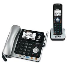 AT&T TL86109 DECT 6.0 2-Line Expandable Corded/Cordless Phone with Bluetooth