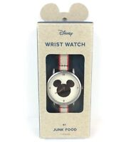 Disney Mickey Mouse Silhouette Vintage Style Watch 90th Anniversary by Junk Food