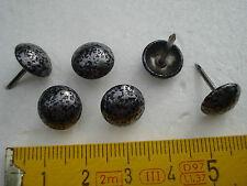 65 clous de tapissier perle fer 11 mm gris moucheté ,fauteuil, siège