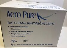 NEW AERO PURE SBF 80 L1 SUPER QUIET BATH FAN/LIGHT/NIGHTLIGHT