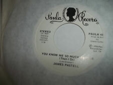 JAMES PASTELL You Know Me So Much Better /  Robinhood  PAULA 45 NM