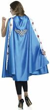 Deluxe Women's Wonder Woman Cape DC Comics Super Hero Adult Costume Accesssory