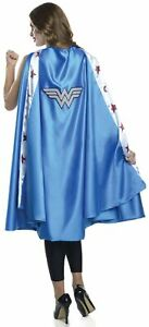 Deluxe Women's Wonder Woman Cape DC Comics Super Hero Adult Costume Accesssory
