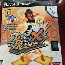 Playstation 2 Dance Dance Revolution X Controller Mat Game