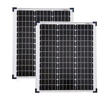 2 Stück 50 W Solarmodul 50 Watt mono Solarpanel  Solarzelle NEU TÜV Zertifikat