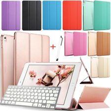 "For 9.7"" iPad 2 3 iPad 4 Slim Wake/Sleep Leather Cover Case Bluetooth Keyboard"