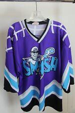 Projoy Smash Lacrosse Shirt, Men's Medium, Purple/Blue/Black