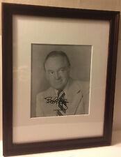 Bob Hope Celebrity Actor Golfer Autograph Signed B&W Photo Custom Framed w/ COA