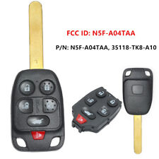 6 Button Remote Key Fob 313.8MHz for Honda Odyssey 2011-2013 FCC ID: N5F-A04TAA