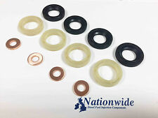 Ford C Max Fiesta Focus 1.6 TDCi DV6 Common Rail Diesel Injector Seal kit x 4