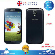 Samsung Galaxy S4 GT-I9505- 16GB White Unlocked Android Smartphone Black - White